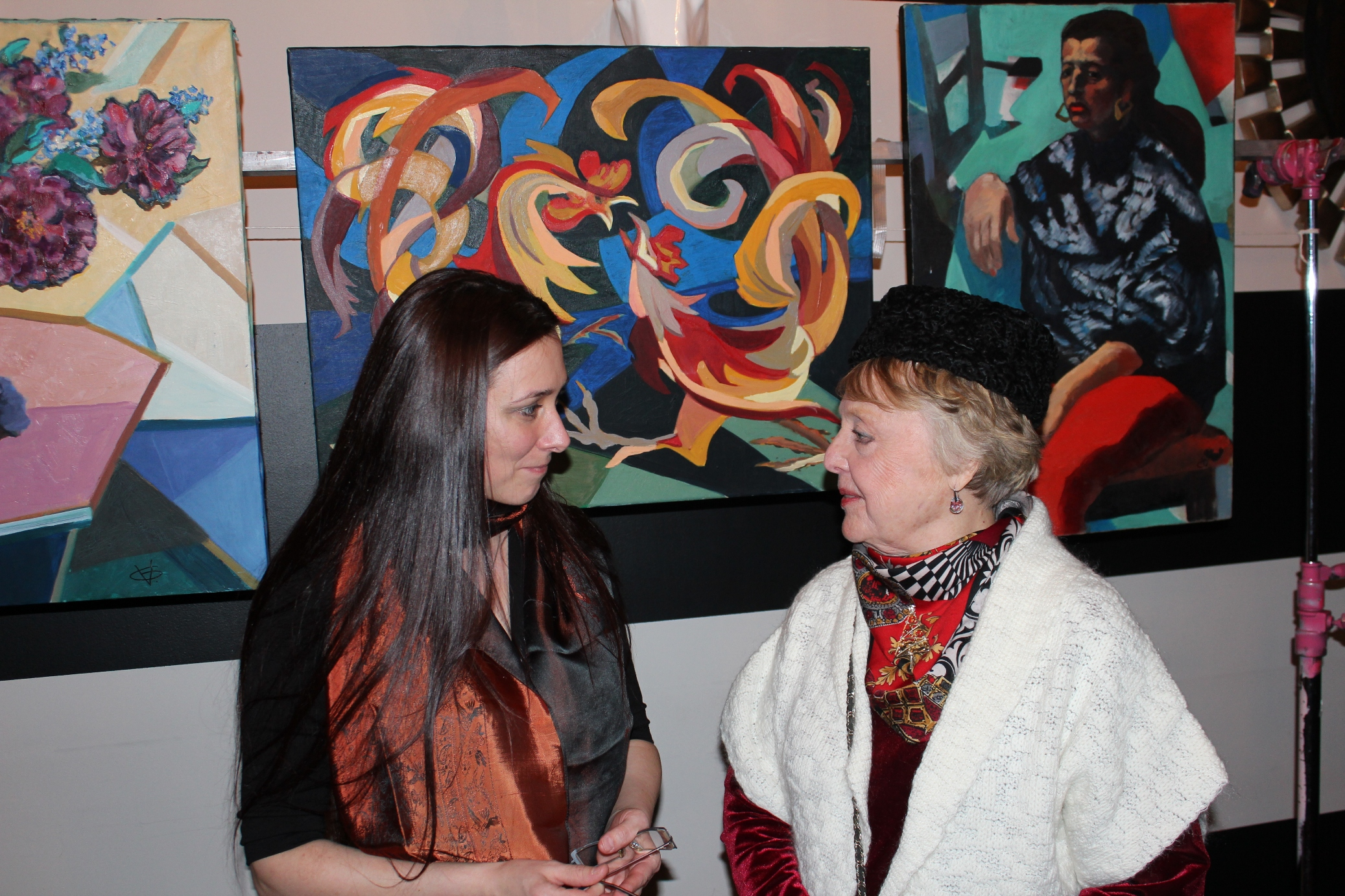 Artists of Russian New York Exhibition, V. Gashurova
